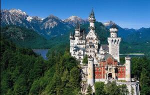 Pemandangan Alam di Jerman dalam Nuansa Biru yang menakjubkan